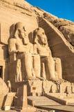 Abu Simbel 免版税图库摄影