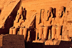 Abu simbel Stockfotos