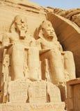 Abu Simbel Stockbilder