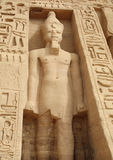 Abu Simbel Stockfoto