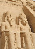 Abu Simbel Stockbild