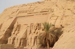Abu Simbel Стоковая Фотография RF