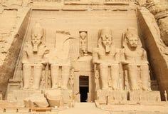 Abu Simbel Стоковое Изображение RF