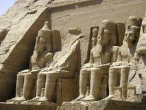 Abu Simbel Foto de archivo libre de regalías