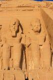 Abu Simbel Arkivfoton