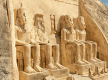Abu Simbel illustration de vecteur