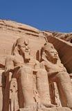 Abu Simbel images libres de droits