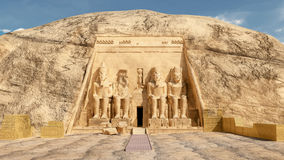 Abu Simbel illustration libre de droits