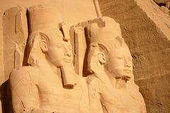 Abu Simbel foto de archivo