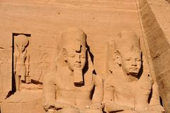 Abu Simbel Fotos de Stock Royalty Free
