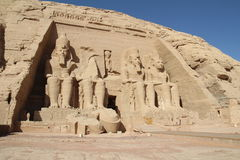 Abu Simbel Obrazy Royalty Free