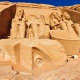 Abu Simbel Imagenes de archivo