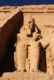 abu simbel Afryce Egiptu statutu, Zdjęcia Stock