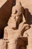 Abu Simbel auf der Grenze von Ägypten und von Sudan Stockfotografie