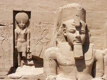 Abu Simbel, Egipto Imagenes de archivo