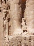 Abu Simbel, Egipto Foto de archivo libre de regalías