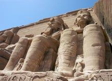 Abu Simbel, Egipto Fotos de archivo libres de regalías