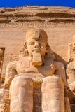 Abu Simbel, Egipto Fotos de Stock Royalty Free