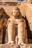 Abu Simbel, Egipto Foto de Stock