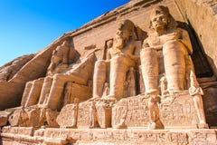 Abu Simbel, Egipto Imagen de archivo libre de regalías