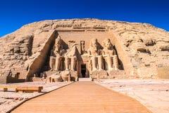 Abu Simbel, Egipto fotografia de stock