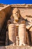 Abu Simbel, Egipto Imagen de archivo