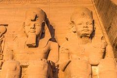Abu Simbel, Egipto Imagem de Stock Royalty Free