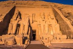 Abu Simbel, Egipto Foto de Stock Royalty Free