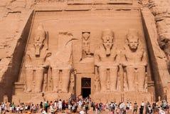Abu Simbel, Egipto Imagens de Stock Royalty Free