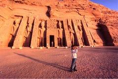 Abu Simbel, Egipto. Imágenes de archivo libres de regalías