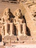 abu simbel Egiptu Obrazy Royalty Free