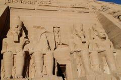 Abu Simbel Egitto Fotografia Stock