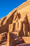Abu Simbel, Egitto Fotografie Stock Libere da Diritti