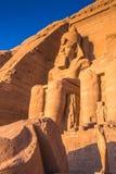 Abu Simbel, Egitto Immagini Stock