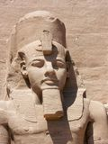 Abu Simbel, Egypt. Statues of Ramses The Great at Abu Simbel, Egypt stock photos