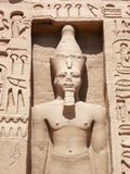 Abu Simbel, Egypt. Temple of Hathor, Abu Simbel, Egypt stock photos