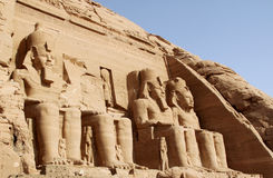 Abu Simbel -Egypt Stock Photography