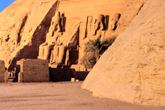 Abu Simbel, Egypt. Stock Photo