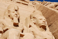Abu simbel Egypt Stock Photography