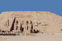 Abu simbel Egypt Stock Images