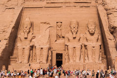 Abu Simbel, Egypt royalty free stock images