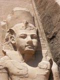 Abu Simbel, Egypte Stock Afbeelding
