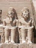 Abu Simbel, Egypte Royalty-vrije Stock Foto's
