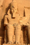 Abu Simbel, Egypte Photographie stock
