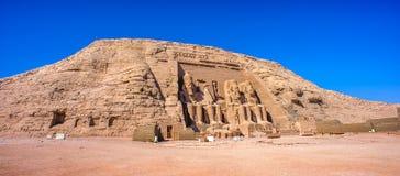Abu Simbel, Egypte images libres de droits