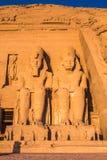 Abu Simbel, Egypte Photo stock