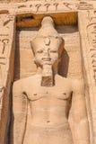 Abu Simbel, Egypte Image libre de droits