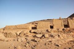 Abu Simbel im Herzen von Nubia Egypt Lizenzfreie Stockfotografie