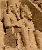 Abu Simbel. l'Egypte. Images libres de droits