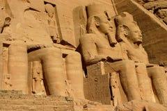 Abu Simbel. l'Egypte. Photo stock